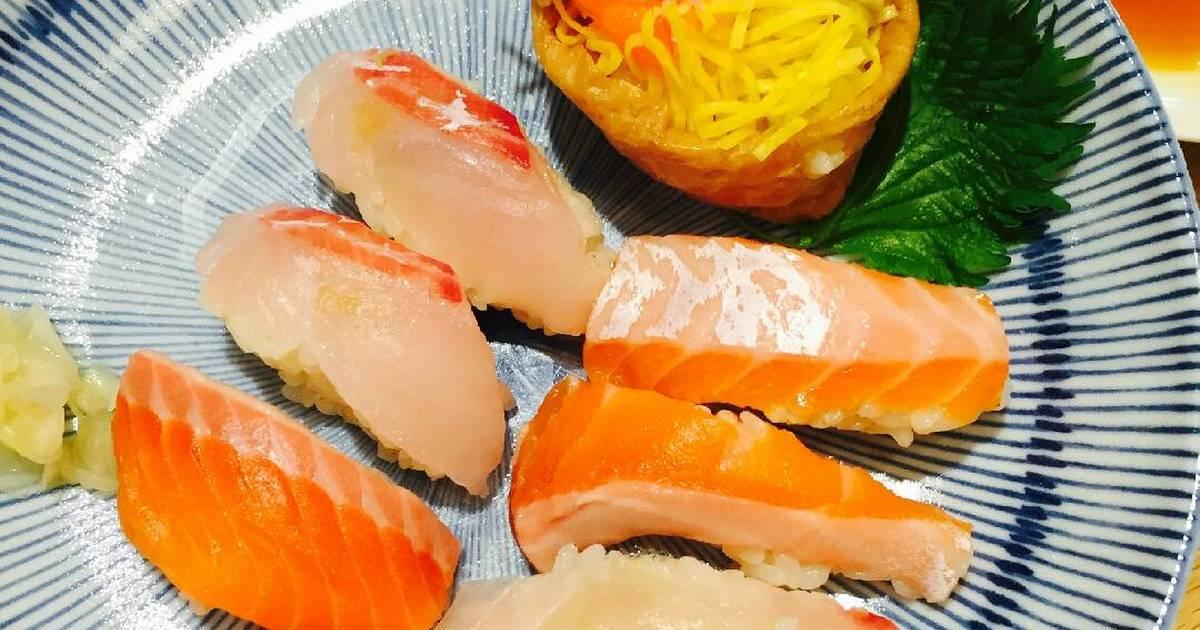 Tự làm Sushi nắm nigirizushi tại nhà