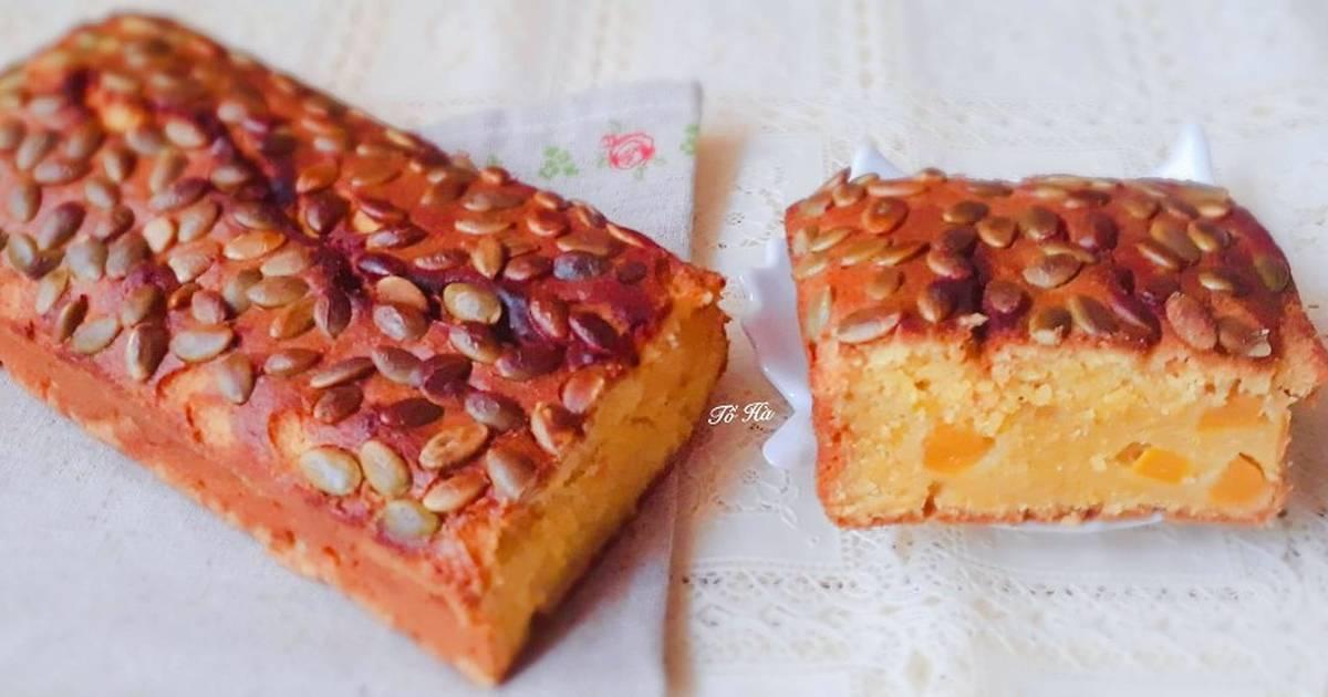 Bánh BÍ ĐỎ nướng (Pumpkin Butter Cake)