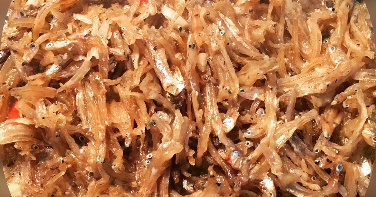 Cá cơm kho khô kiểu Hàn