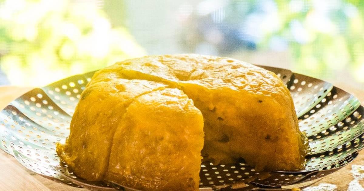 Bánh Chuối Hấp + Nước Cốt Dừa