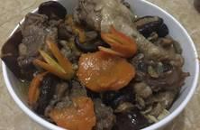 Thịt Vịt hầm Nấm Hương
