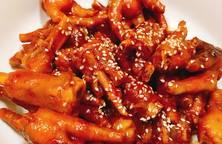 Chân gà sốt Hàn Quốc