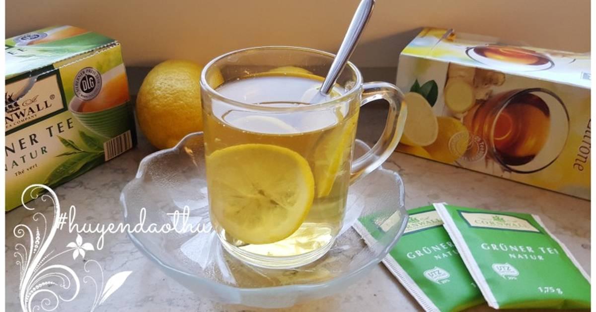 Chanh gừng ngâm mật ong - giúp phòng ngừa cảm cúm và giảm cân