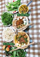 🍜Hủ Tiếu được làm từ Gạo lứt đỏ. Dễ ăn cho ngày hè oi ả 🌼🎸