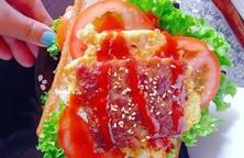 Bữa sáng kiểu Pháp =))))