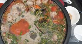 Hình ảnh món Lẩu cua biển