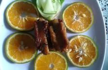 Sườn sốt cam