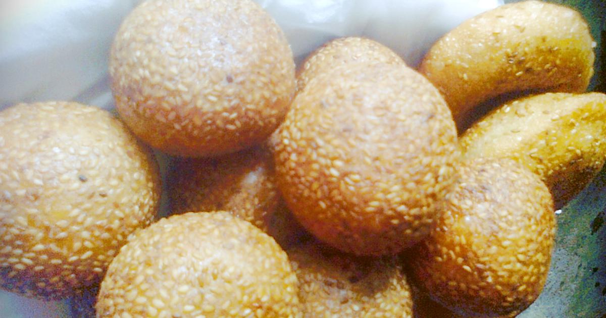 Bánh rán lúc lắc - Bánh cam - Bánh rán ngọt (Sesame ball recipe)