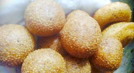 Hình ảnh món Bánh rán lúc lắc - Bánh cam - Bánh rán ngọt (Sesame ball recipe)