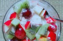 Yến mạch trộn trái cây