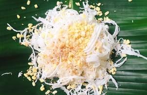 Xôi Dừa Đậu Xanh Muối Mè