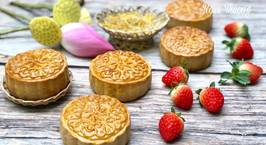 Hình ảnh món Bánh Trung Thu Nhân Đậu Xanh Sầu Riêng Trứng Muối