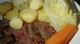 Hình ảnh món Corned Beef (Bò hầm ngũ vị và bắp cải)