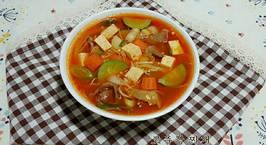Hình ảnh món Canh tương ớt (súp tương ớt) 고추장 찌개