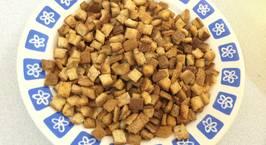 Hình ảnh món Snack từ vỏ bánh sandwich