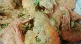 Hình ảnh món Tôm Hoàng Kim (tôm sốt trứng muối)