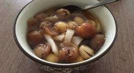 Hình ảnh món Chè hạt sen long nhãn nước dừa