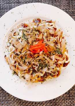 Okonomiyaki(Bánh Xèo Nhật Bản)