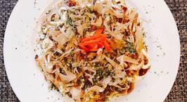 Hình ảnh món Okonomiyaki(Bánh Xèo Nhật Bản)