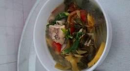 Hình ảnh món Cá mè hoa nấu canh chua dứa