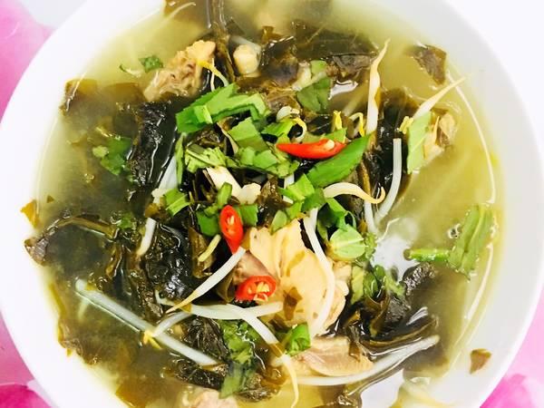 Canh Gà Nấu Lá Giang