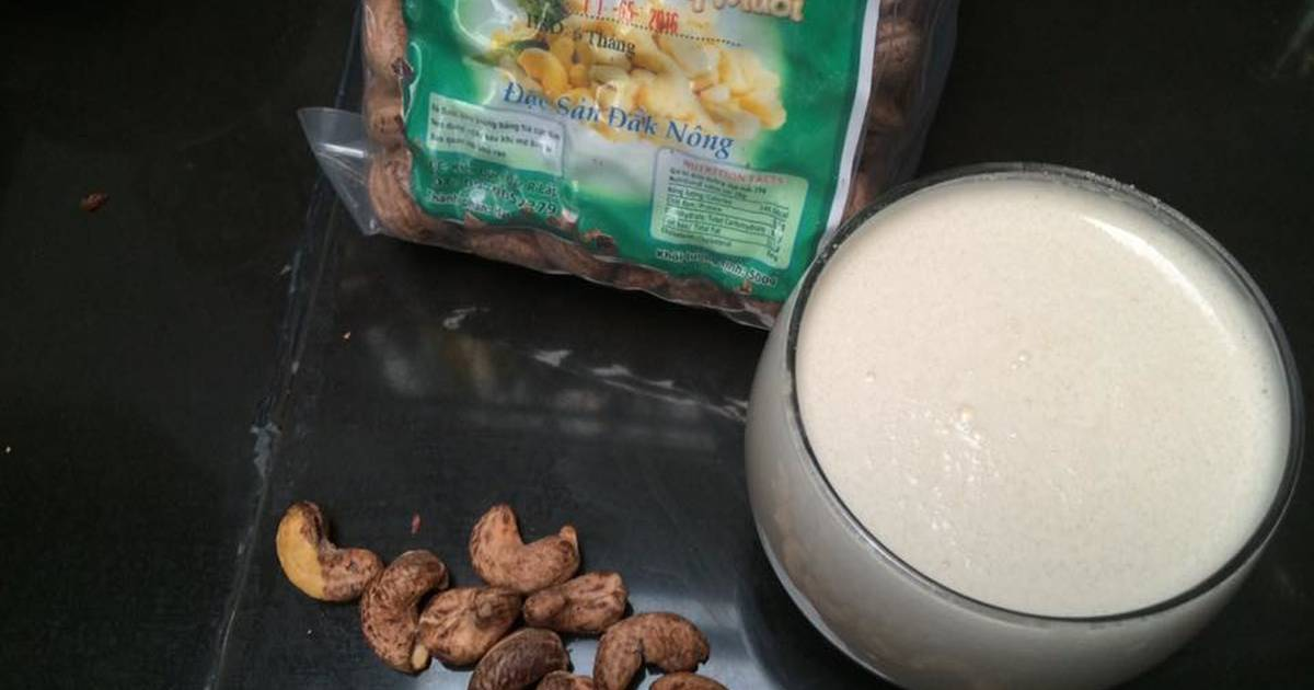 Sữa hạt điều