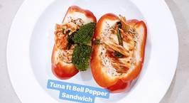 Hình ảnh món Sandwich Cá Ngừ Ớt Chuông Giảm Cân Eat Clean