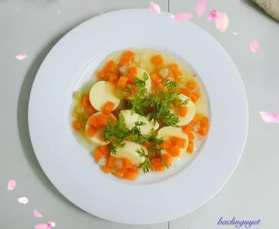 Đậu hủ sốt cà rốt