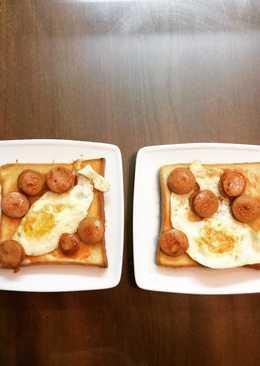 Bánh mì cho bữa sáng đơn giản đầy năng lượng cho một người