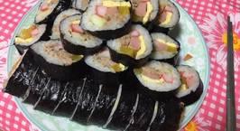 Hình ảnh món Cơm cuộn cá ngừ đóng hộp