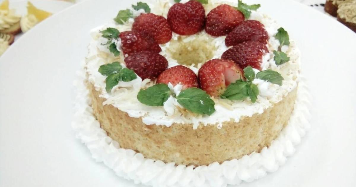 Coconut Angle Food Cake