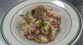 Hình ảnh món Salad cá ngừ ❤️ trẻ con người lớn đều thích mà vô cùng đơn giản nha ?