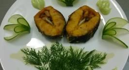 Hình ảnh món Cá tầm nướng muối ớt