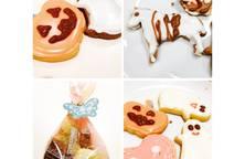 Bánh qui Halloween - kiểu dễ cho người mới làm bánh