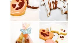 Hình ảnh món Bánh qui Halloween - kiểu dễ cho người mới làm bánh