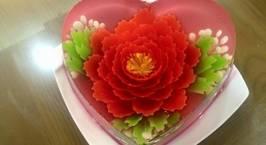 Hình ảnh món Thạch rau câu 3D