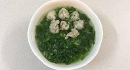 Hình ảnh món Canh cải xanh cá thát lát