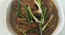 Hình ảnh món Giả cầy nấu theo cách của quê O Gái
