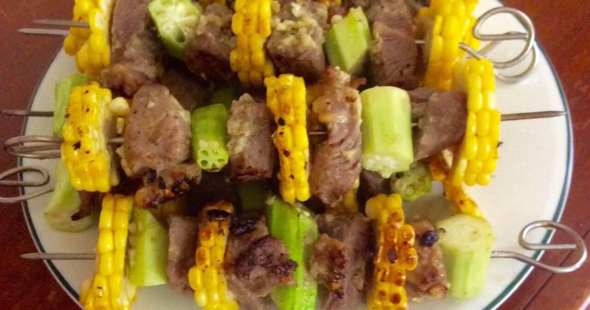 Thịt bò áp chảo ướp mù tạt
