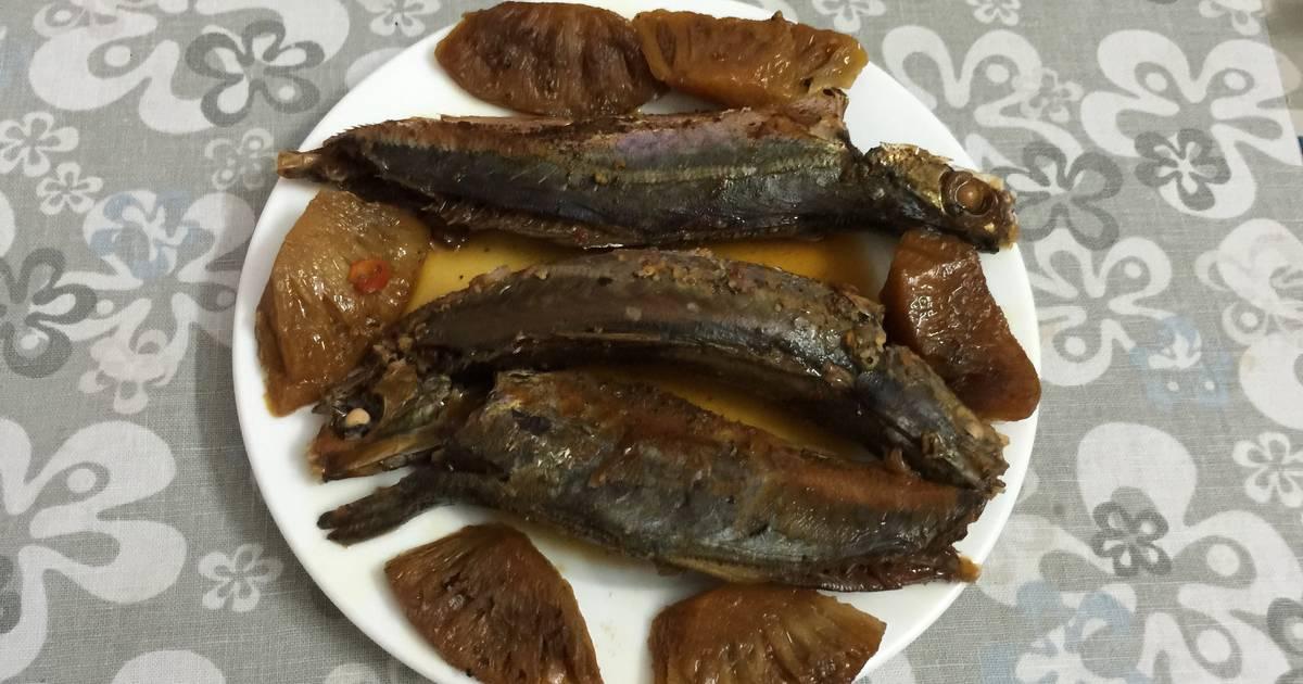 Cá nục kho dứa O Gái