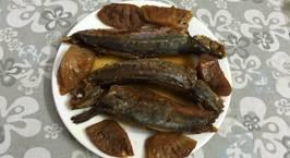 Hình ảnh món Cá nục kho dứa O Gái