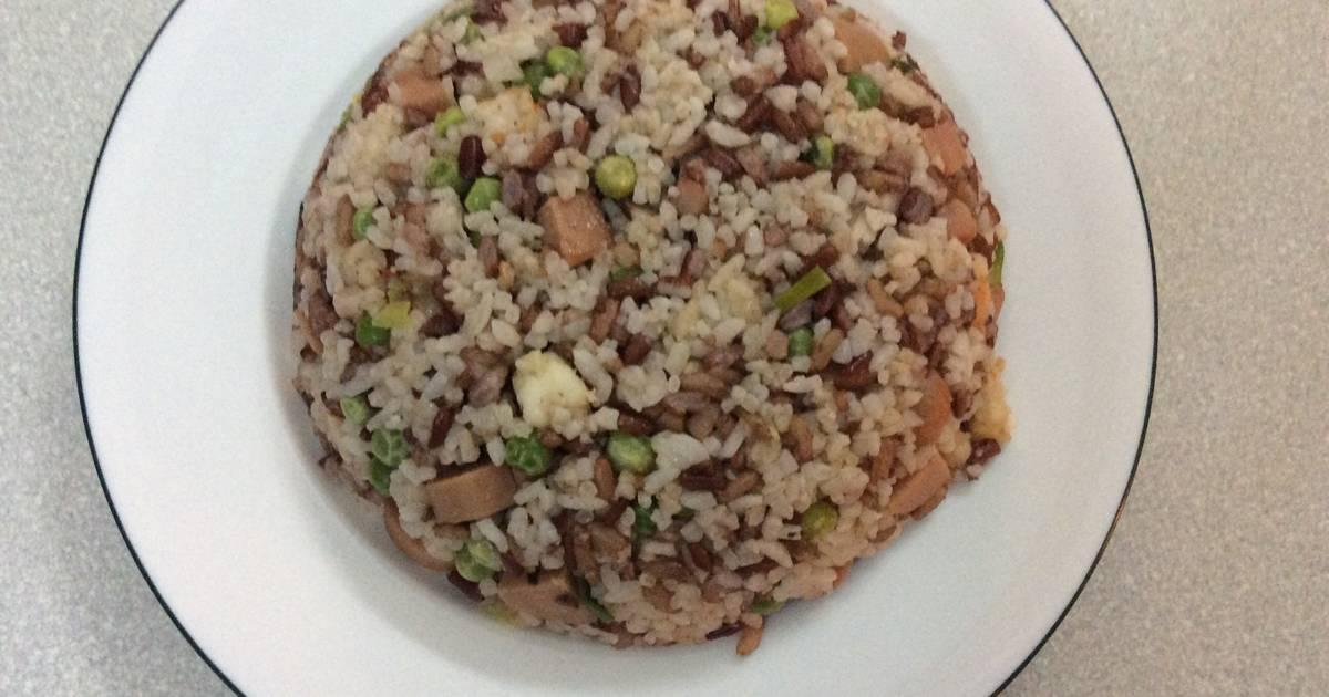 Cơm chiên gạo lức dưỡng sinh