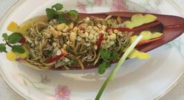 Hình ảnh món Nộm hoa chuối Sài Gòn