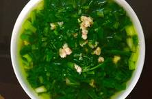 Canh cải ngồng