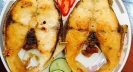 Hình ảnh món Cá bớp chiên muối ớt