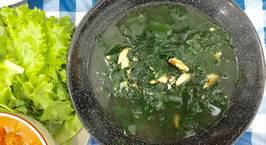 Hình ảnh món Canh rau ngót nấu thịt ghẹ
