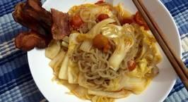 Hình ảnh món Bún shirataki xào bacon