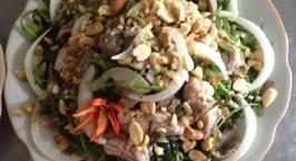 Hình ảnh món Nộm rau muống thịt lợn