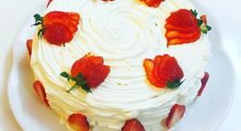 Hình ảnh món Bánh sinh nhật đơn giản