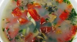 Hình ảnh món Canh trai nấu cà chua và sấu